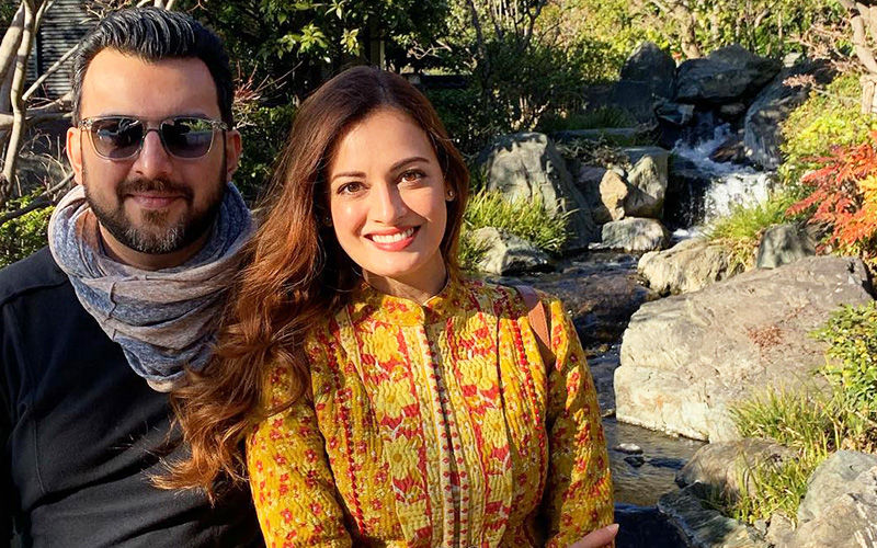 Dia Mirza Rubbishes Kanika Dhillion's Rumoured Affair With Sahil Sangha, Says There's 'No Third Person'