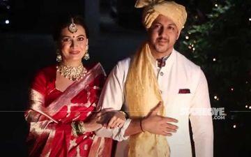 Dia Mirza-Vaibhav Rekhi Wedding: Actress' Bridal Look Out; Dia Looks Resplendent In A Red Saree And Minimal Make-up – PICS Inside