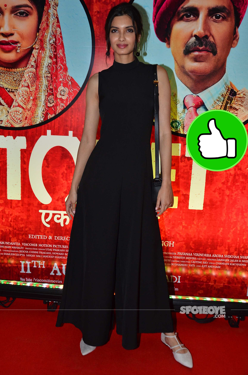 diana penty at toilet screening
