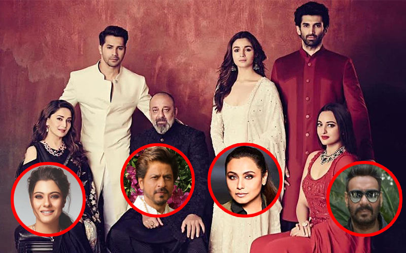 Did You Know Karan Johar Initially Wanted Shah Rukh Khan, Ajay Devgn, Kajol, Rani Mukerji In Kalank?