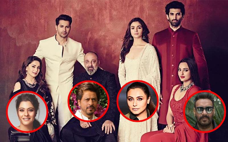 Did You Know Karan Johar Initially Wanted Shah Rukh Khan, Ajay Devgn, Kajol, Rani Mukerji In Kalank?