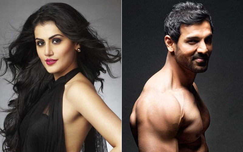 Did You Know? Taapsee Pannu Had John Abraham's Posters On Her Walls!