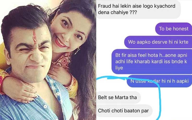 Divya Bhatnagar's Brother Receives Support From Devoleena After He EXPOSES Her Husband; He Releases Chats Where Divya Accusied Husband Of Beating Her With A Belt