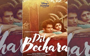 Dil Bechara Poster: Shraddha Kapoor, Kartik Aaryan, Smriti Irani, Rajkummar Rao And Others Root For Sushant Singh Rajput's Last Film