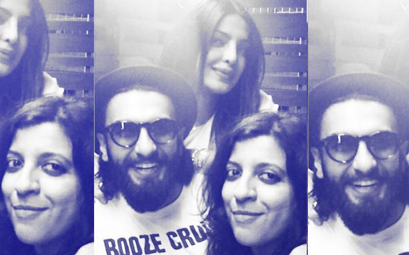 Dil Dhadakne Do Reunion: Priyanka Chopra, Ranveer Singh & Zoya Akhtar Catch Up