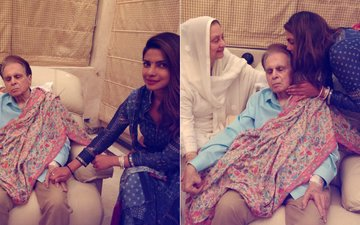 IN PICS: After Shah Rukh Khan, Priyanka Chopra Meets Dilip Kumar