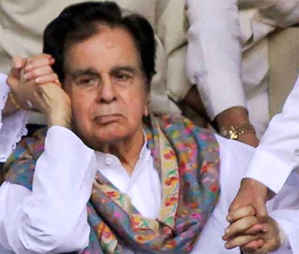 dilip kumar diagonised with kidney failure
