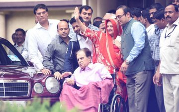 FIRST PICS: Dilip Kumar Discharged From Hospital