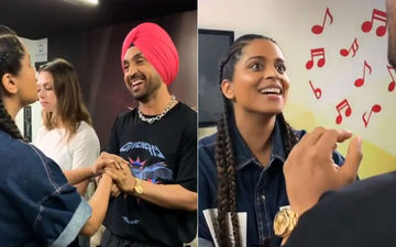 Diljit Dosanjh-Lilly Singh Showcase What Happens When Punjabi's Catch up, Literally!