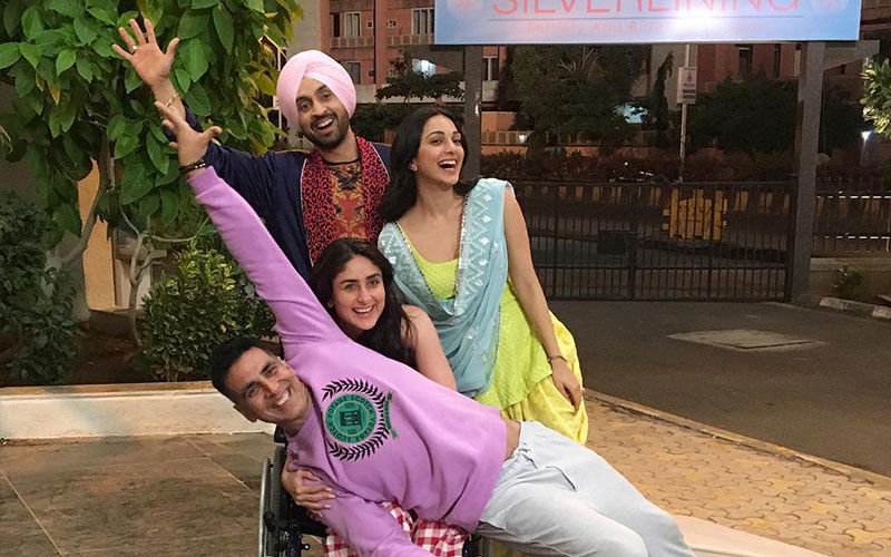 Diljit Dosanjh Having a Ball With Akshay, Kareena, Kiara is 'Good News' For Fans!