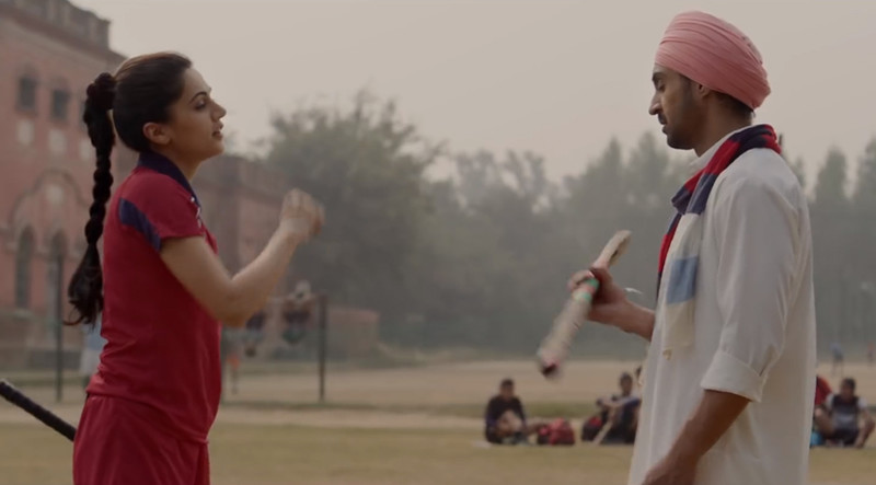 diljit dosanjh and taapsee pannu in soorma movie