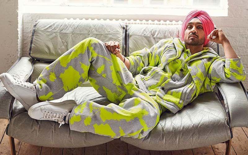 Diljit Dosanjh Dons Pyjama With Blazer For A Popular Fashion Magazine Cover Shoot