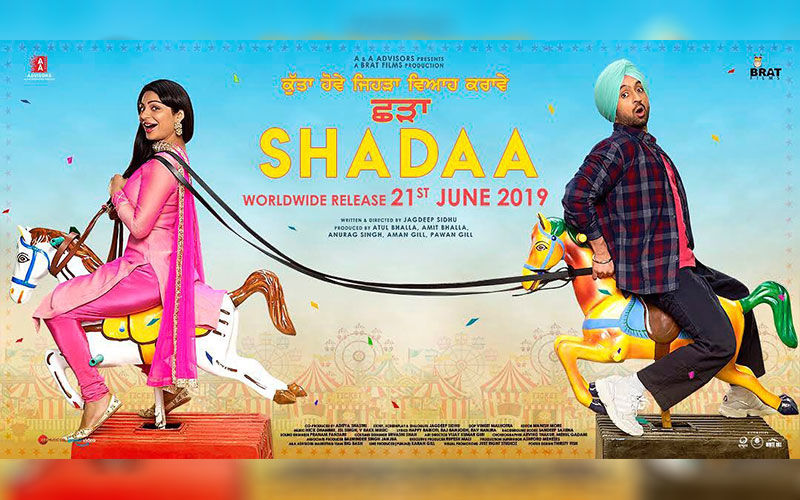 Shadaa: Diljit Dosanjh, Neeru Bajwa Share a New Poster to Make the Fans Laugh a Little Louder