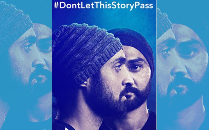Diljit Dosanjh Is A Mirror Image Of Hockey Player Sandeep Singh In This Poster