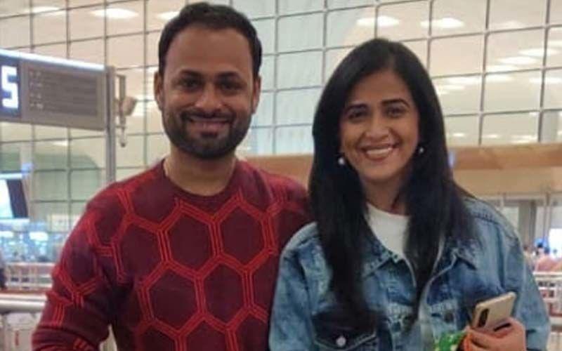 Sharmishtha Raut And Tejas Desai Blissfully Happy On Their Maldivian Honeymoon