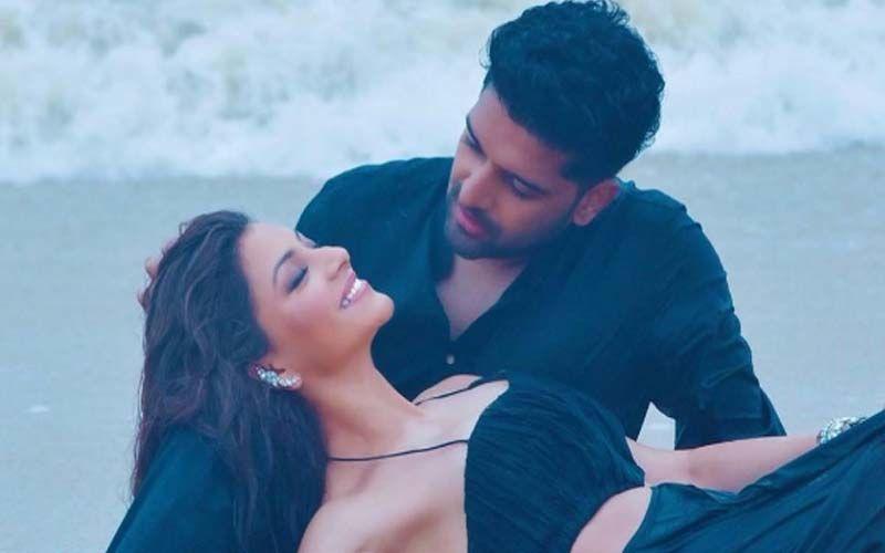Guru Randhawa Shares A BTS Video Romancing With Urvashi Rautela From His Upcoming Song 'Doob Gaye'; Watch It RN