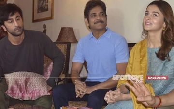 Nagarjuna Completes Work On Alia Bhatt And Ranbir Kapoor Starrer Brahmastra; Remembers The Time Little Alia Would Visit The Sets Of  Zakhm - EXCLUSIVE