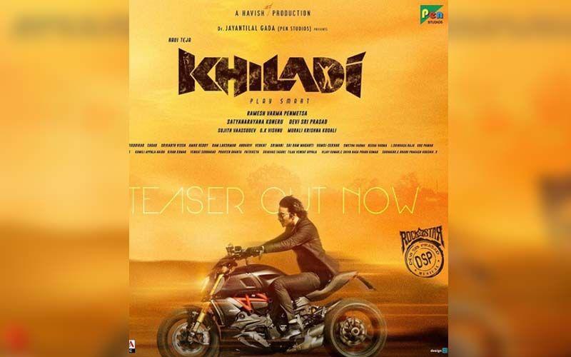Khiladi Teaser: Ravi Teja Promises An Intense Action Thriller Of The Year