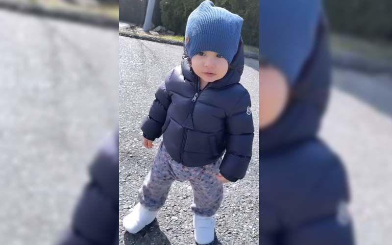 Gippy Grewal's Son Gurbaaz Is Here To Beat Your Monday Blues With Cuteness; Watch The Video