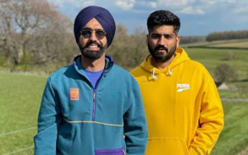 Qismat Duo Ammy Virk And Jagdeep Sidhu Give Pollywood Bro Goals