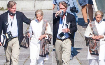 LEAKED PICS: Dimple Kapadia's Look From Christopher Nolan's Tenet Revealed