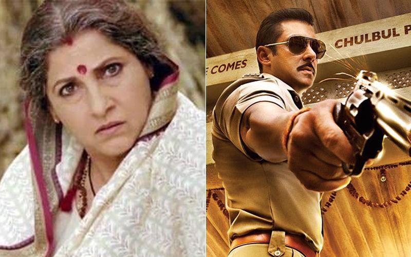 Dimple Kapadia Returns To Salman Khan's Dabangg Franchise; Will Reprise As Naini Devi's Role In The 3rd Part
