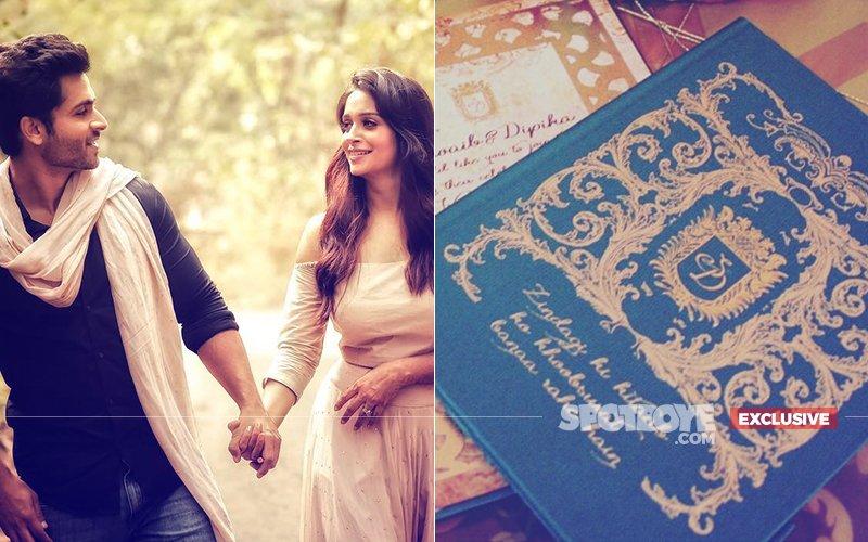 FIRST LOOK: Dipika Kakar & Shoaib Ibrahim's Wedding Card