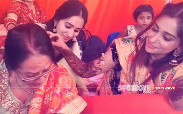 INSIDE PICS & VIDEOS: Dipika-Shoaib's Mehendi Ceremony, It Was An Emotional Moment As The Actress & Her Mother Get Teary Eyed