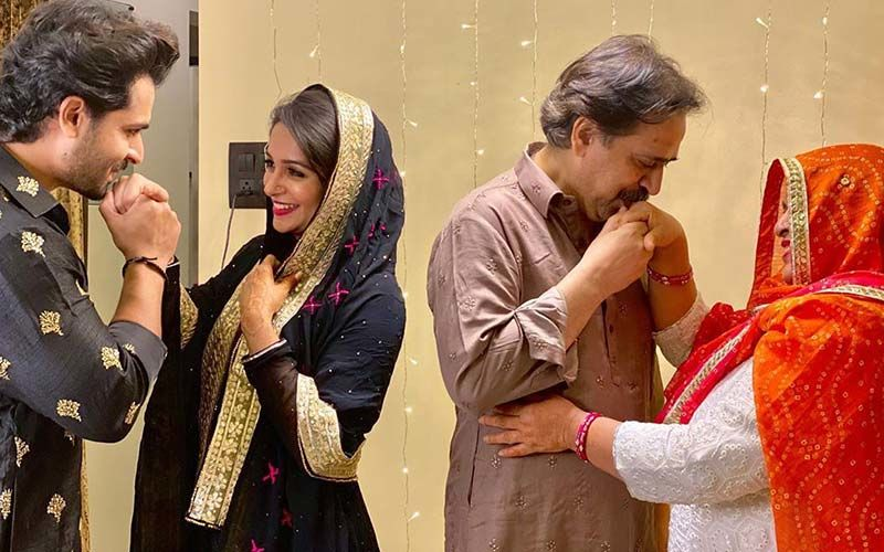 Eid 2020: Dipika Kakar- Shoaib Ibrahim And His Parents Pose For The Perfect Romantic Picture; What Happens Next Is Too Adorable