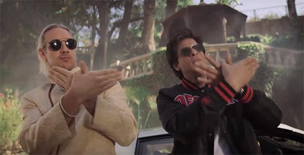 diplo and shah rukh khan in phurrr