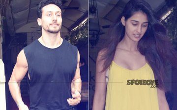 Disha Patani & Boyfriend Tiger Shroff Head Out For Lunch. Look Who Joined Them