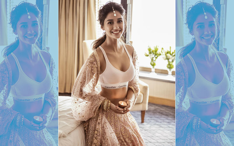 Disha Patani Gives Bold And Quirky Twist To Her Diwali Look- Picture Goes Viral