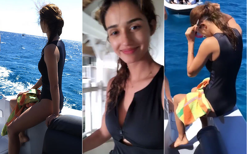 Disha Patani Goes Scuba Diving In A Sexy Bikini- See Video And Pics