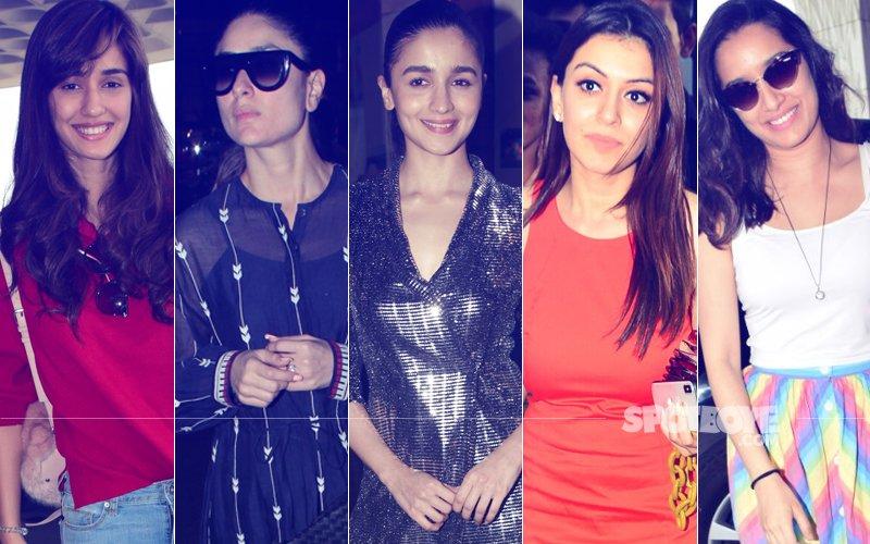 STUNNER OR BUMMER: Disha Patani, Kareena Kapoor, Alia Bhatt, Hansika Motwani Or Shraddha Kapoor?