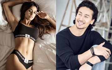 Disha Patani's Boyfriend Tiger Shroff 'Likes' Her in Calvin Klein