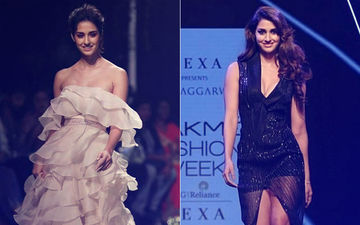 Lakme Fashion Week 2018: Disha Patani's Mushy White Summer Look Or Black Winter Magic?