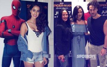 Tiger Shroff Unites Girlfriend Disha Patani With Mom Ayesha And Sister Krishna