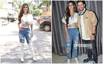 SPOT THE DIFFERENCE: Disha Patani Changes Something In Her Look Midway During Malang Promotion