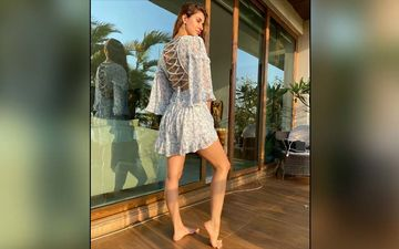 Disha Patani's Summer Dress Is A Welcome Change From Her Itsy-Bitsy Bikinis!