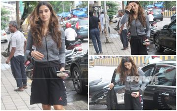 FASHION CULPRIT OF THE DAY: Disha Patani, Did You Borrow Boyfriend, Tiger Shroff's Shorts By Any Chance?