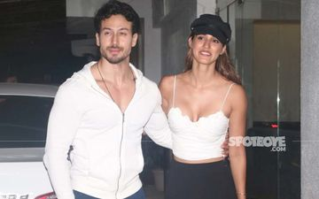 Disha Patani Flaunts Her Curves In A Pink Figure-Hugging Dress; Rumoured Boyfriend Tiger Shroff Is All Hearts For Her Latest Snap