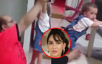 Disturbing Child Abuse Video Shows Man Mercilessly Beating, Throwing Around Wailing Toddler: Nora Fatehi Seeks Support From UNICEF