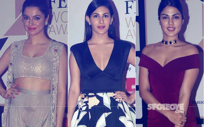 Bollywood Divas Bedazzle At The Red Carpet Of Femina Women Awards 2017