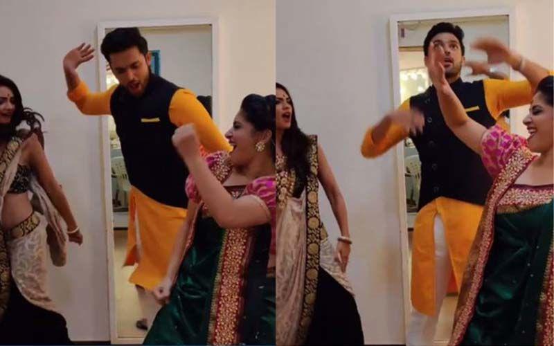 Ganesh Chaturthi 2019: Kasautii Zindagii Kay 2 Stars Parth Samthaan, Pooja Banerjee And Shubhavi Choksey Dance To The Beats Of Dhagala Lagali