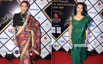 Dadasaheb Phalke International Awards 2020: Divyanka Tripathi's Ruffle Saree And Malaika Arora's Printed One Spell FASHION DISASTER