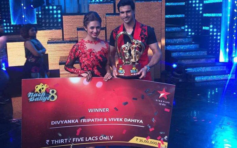 Divyanka Tripathi & Vivek Dahiya Take Home Rs 35 Lakh  After Winning Nach Baliye 8