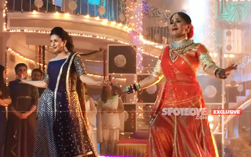 "Divyanka Tripathi Does A Dance-Off With Sudha Chandran On Aaja Nach Le; Says, ""I Was Very Scared"""