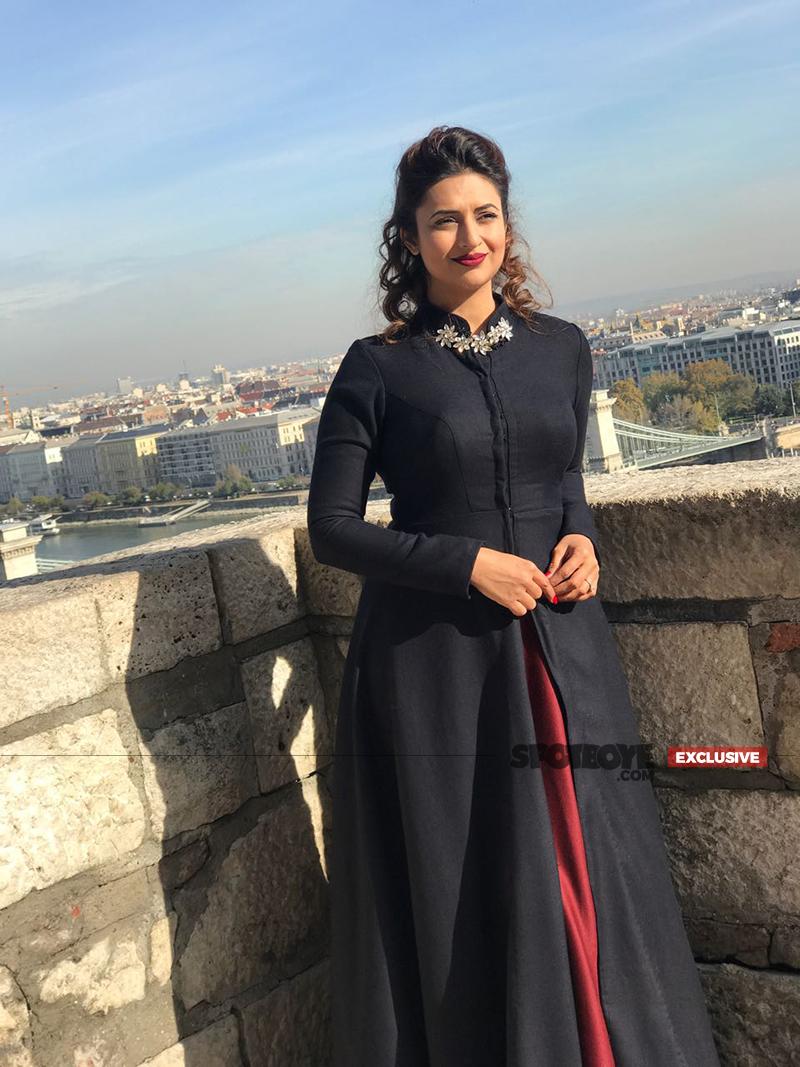 divyanka tripathi shoot in budapest