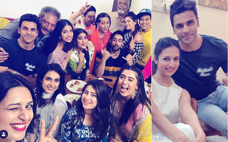 "Divyanka Tripathi Teams Up With Her Reel Family For Shireen Mirza's Iftaari Party; Captions Pic As ""Sacchi Mohabbatein"""