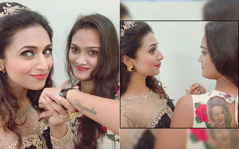 Divyanka Tripathi's Crazy Fan Gets Her Face Tattooed On Her Back And Her Name On Her Wrist – OMG!